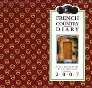 Cover of: French Country Diary 2007