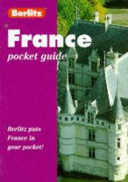 Cover of: France Pocket Guide