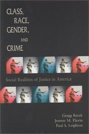 Cover of: Class, Race, Gender, and Crime