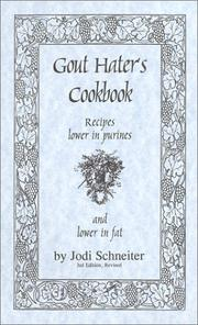 Cover of: Gout Hater's Cookbook