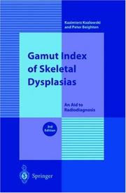 Cover of: Gamut Index of Skeletal Dysplasias