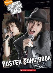 Cover of: Poster Song Book (Naked Brothers Band)