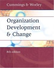 Cover of: Organization Development and Change