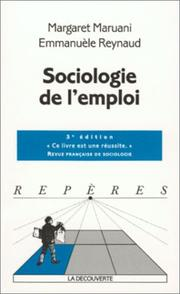 Cover of: Sociologie de l'emploi