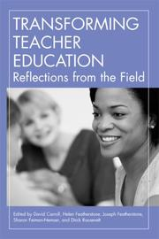 Cover of: Transforming Teacher Education