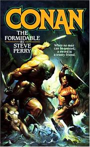 Cover of: Conan the formidable
