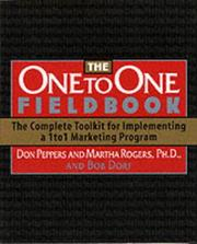 Cover of: The One to One Fieldbook