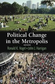 Cover of: Political Change In The Metropolis (8th Edition)