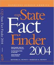 Cover of: Cq's State Fact Finder 2004