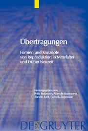 Cover of: Ubertragungen