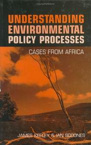 Cover of: Understanding Environmental Policy Processes