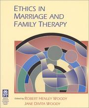 Cover of: Ethics In Marriage and Family Therapy