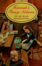 Cover of: Hannah's fancy notions (HBJ treasury of literature)