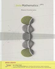 Cover of: Finite Mathematics, Enhanced Review Edition