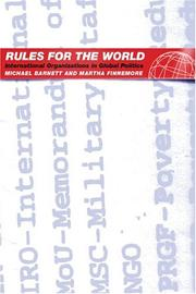 Cover of: Rules For The World