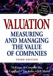 Cover of: McKinsey DCF Vaulation 2000 Model(to accompany Valuation
