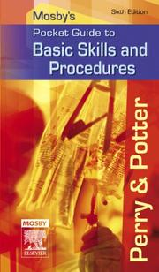 Cover Of Mosbys Pocket Guide To Basic Skills And Procedures Nursing Guides