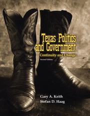 Cover of: Texas Politics and Government