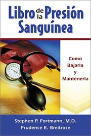 Cover of: Libro de la presion sanguinea