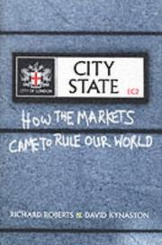 Cover of: The City State