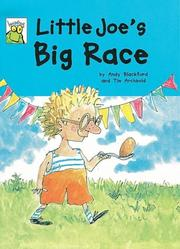 Cover of: Little Joe's Big Race (Leapfrog)