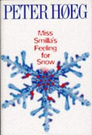 Cover of: Miss Smilla's Feeling for Snow (Windsor Selections)