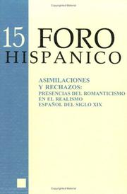 Cover of: Asimilaciones y Rechazos