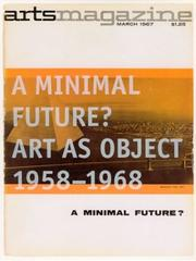Cover of: A minimal future?