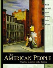 Cover of: The American People