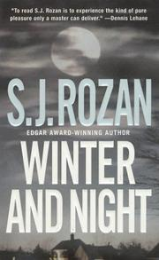 Cover of: Winter and Night (A Bill Smith/Lydia Chin Novel)