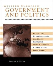 Cover of: Western European Government and Politics