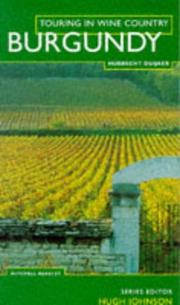 Cover of: Burgundy (Touring in Wine Country)