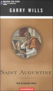 Cover of: Saint Augustine