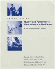 Cover of: Quality And Performance Improvement In Healthcare
