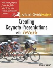 Cover of: Creating Keynote Presentations with iWork