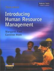 Cover of: Introducing Human Resource Management (Modular Texts in Business & Economics)