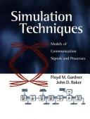 Cover of: Simulation Techniques Set (Diskette with manual and Textbook)