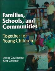 Cover of: Families, Schools & Communities