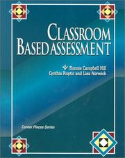 Cover of: Classroom Based Assessment (Corner Pieces Series)