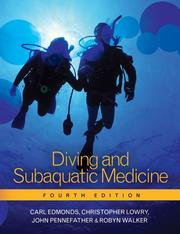 Cover of: Diving and Subaquatic Medicine