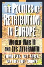 Cover of: Colabration Reistance And Retribution: World War II and Its Aftermath