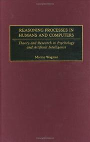 Cover of: Reasoning Processes in Humans and Computers