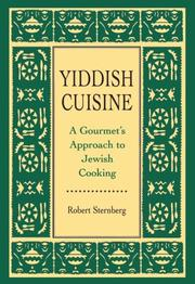 Cover of: Yiddish Cuisine