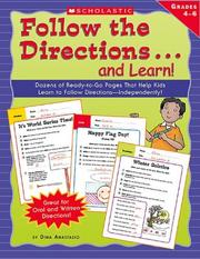 Cover of: Follow The Directions...and Learn! Grades (Follow The Directions...and Learn! Grade)