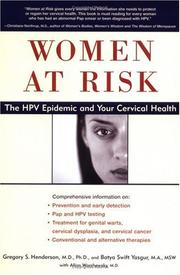 Cover of: Women at Risk