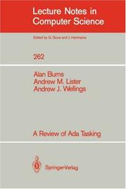 Cover of: A Review of Ada Tasking (Lecture Notes in Computer Science)