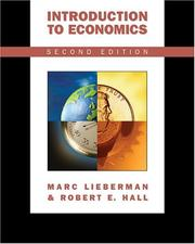 Cover of: Introduction to Economics (with InfoTrac )