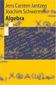 Cover of: Algebra (Springer-Lehrbuch)