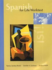 Cover of: Spanish for Life-Worktext W/an