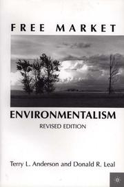 Cover of: Free Market Environmentalism